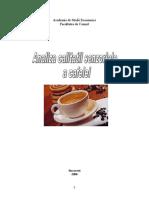 Analiza Calitatii Senzoriale a Cafelei