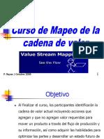 Curso Mapeo Cadena de Valor