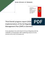 Third Danish Progress Report on Eel Regulation
