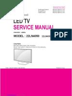 LED tv service manual