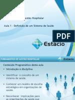 Fundamentos Da Gestão Hospitalar