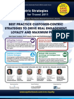 Customer Centric Strategies in Online Travel