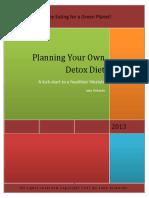 Planning Your Own Detox Diet