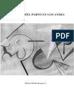 Burgos Maria Ofelia - El Ritual Del Parto en Los Andes