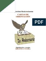 4933 Lectorium Cartas de Orientacion