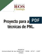 Proyecto Para Aplicar Técnicas de PNL.