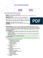 ECEN 2250, Introduction to Circuits & Electronics, Fall 2011 - Course Description.pdf