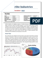 Sterlite Industries - Equity Report - 31st Aug 2010