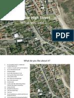 Dunbar High Street What You Said Public