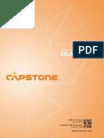 Capstone Team Member Guide 2018