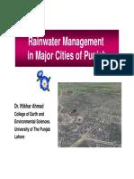 Rain Water Management
