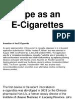 Vape as an E-Cigarettes.ppt