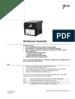 Burner Control LAL 2.25