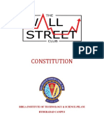 Constitution Wall Street