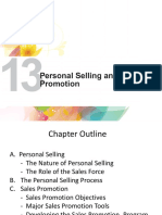 Chapter 13 - Personal Selling _ Sales Promotion.pptx