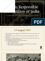Who is Responsible for Partition of India.pdf