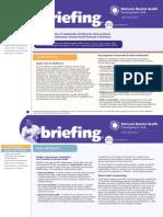 NMHDU Special Briefing for NHS Confed Nov 2010