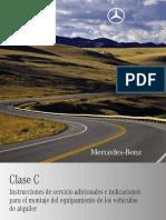 Mercedes Clase C204_es
