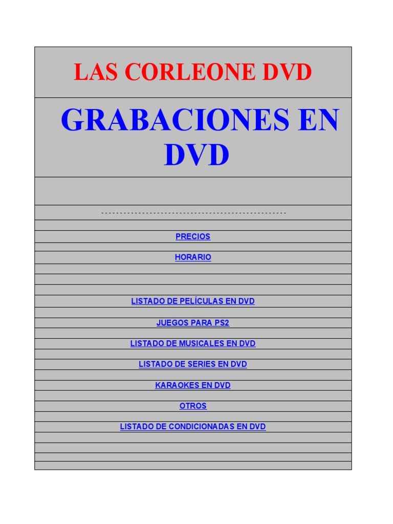 Las Corleone Dvd Hotmail 76b1ebbc97