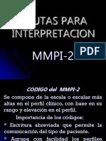 Pautas Para Interpretacion Mmpi-2