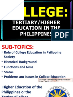 College Education in the Philippines