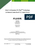 2003-An Enhanced Amine-Based CO2 Capture Process (FLUOR's ECONAMINE)