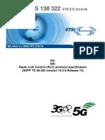 5G RLC