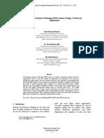 Enterprise Resource Planning ERP Systems Design