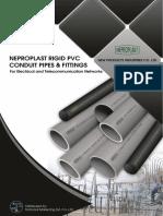 Electric pvc conduit cataloge