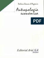 Comas Dargemir,  Dolors - Antropología económica