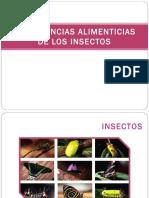 Preferencias Alimenticias de Los Insectos