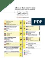 Summer School Program 2019 Draft