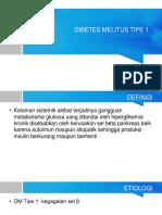 Dibetes Melitus Tipe 1