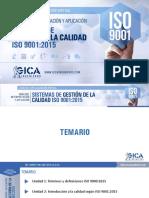 Implementación de la calidad con ISO 9001 version 2015
