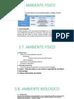 Diapositivas Ambiente Fisico y Biologico
