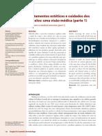 1 Artigo Tratamentos Esteticos e Cuidados Dos Cabelos Uma Visao Medica Parte 1