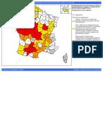 ÉTATS DES ARRÊTÉS DE LIMITATION DES USAGES DE L'EAU AU 13 juillet 2019
