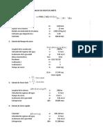 Analisis de Golpe de Ariete