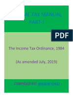 Income Tax Ordinance 1984 (As amended July 2019).pdf