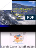 2018 GEOMETA CLASES 10 ley cut off.ppt