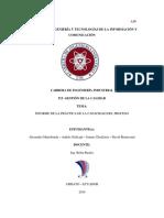 Informe de La Practica - Capacidad Del Proceso