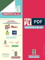 Programación oficial Feria de las Flores 2019