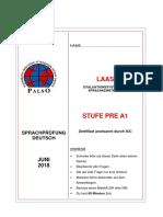 Stufe Pre a1 Juni 2018