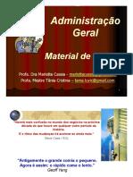 Teoria Geral Da Administração - 2017-02_material