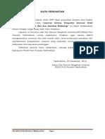 Kata Pengantar & Daftar Isi Laporan SPI