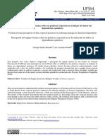 Percepção Da Equipe Técnica Sobre as Práticas Corporais Na Redução de Danos Em Dependentes Químicos