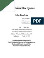 Computational Fluid Dynamics Dr.remia Iwatsu Cuttbus