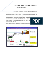 Descripción y Cálculo Mecánico de Redes en Media Tensión