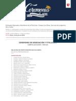 Ceremonia Graduacion Lima 16jul 2019