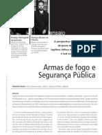 AZEVEDO, Rodrigo Ghiringhelli. Oliveira, Rodrigo M. Armas de Fogo e Segurança Publica.pdf